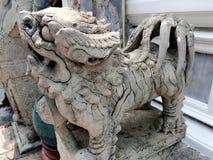 Skulptur in wat phra kaew Lizenzfreies Stockfoto