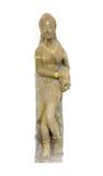 Skulptur wird von einem Stein gebildet Lizenzfreies Stockfoto