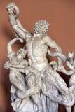 Skulptural grupp av Laocoön och hans söner Royaltyfria Foton