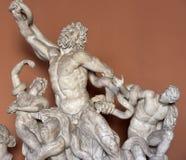 Skulptural grupp av Laocoön och hans söner Royaltyfria Bilder