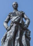 Skulptural helhet som är hängiven till tjurfäktaren Manolete som kallas `-Manuel Rodriguez `, Cordoba, Spanien royaltyfria foton