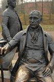 Skulpturala arkitekter för en sammansättning i Alexander Park Royaltyfria Bilder