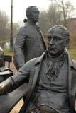 Skulpturala arkitekter för en sammansättning i Alexander Park Royaltyfri Bild