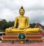 SkulpturBuddha, Buddhastaty Royaltyfri Foto