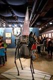 Skulpturelefant med prisman av Salvador Dali Royaltyfri Bild
