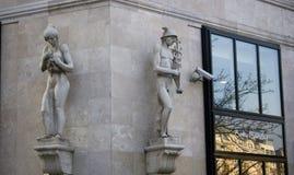 Skulpturen stockbilder