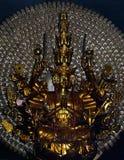 Skulpturen av gudinnan Guanyin i lång sonpagod i Nha Trang Vietnam Arkivfoto