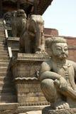 Skulpturen in der alten Stadt Lizenzfreie Stockbilder