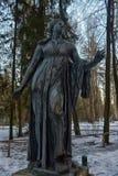 Skulpturen der sterbenden Kinder Niobe, durchgeführt entsprechend t stockfoto