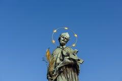 Skulpturen in Prag Lizenzfreie Stockfotografie