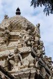 Skulpturen am Tempel in Tiruvannamalai, Indien Stockfoto