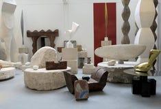 Atelier Brancusi Stockbild