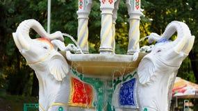 Skulpturen von Elefanten Lizenzfreie Stockbilder
