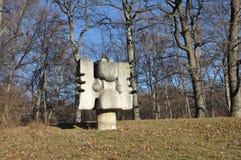 Skulpturen von Magura Stockbild