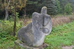 Skulpturer Arkivfoton
