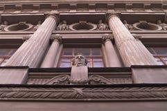 Skulpturer arkitektur Royaltyfria Bilder