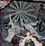 Skulpturer av änglar Arkivfoto