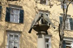 Skulpturer av duvor Royaltyfria Bilder