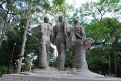 Skulpturer har varit en oumbärlig del av bangladeshisk kultur arkivfoton