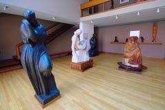 Skulpturer i den Mestrovic atelieren, Zagreb Arkivbilder