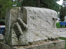 Skulpturer i Rumänien 6 arkivbilder