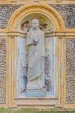 Skulpturer i villan Pamphili i Rome, Italien Arkivbilder