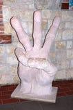 Skulpturhandled Royaltyfria Bilder