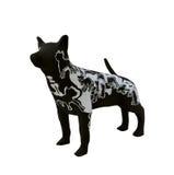 Skulpturhund Royaltyfria Bilder