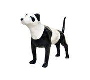 Skulpturhunden flåsar pandaen Royaltyfri Bild