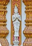 skulpturtempel thailand Royaltyfria Foton
