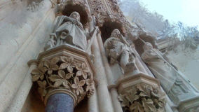 Skulpute των ιστορικών, ιερών ανθρώπων στοκ φωτογραφία με δικαίωμα ελεύθερης χρήσης