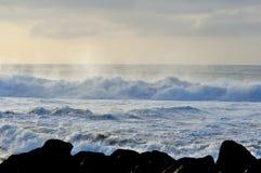 Skum av vågen fotografering för bildbyråer