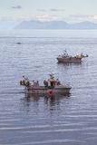 Skumbriowa łódź rybacka Obraz Royalty Free