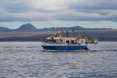 Skumbriowa łódź rybacka Fotografia Royalty Free
