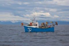 Skumbriowa łódź rybacka Zdjęcia Stock