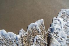 Skumma av havet Royaltyfria Foton