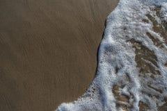 Skumma av havet Arkivfoton
