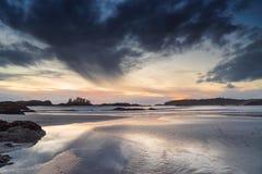 Skuner zatoczka, Pacyficzny park narodowy, Tofino, kolumbiowie brytyjska Zdjęcie Stock