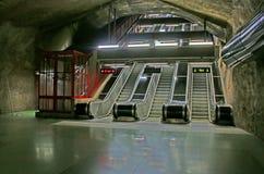 SKungstradgarden-Station der Stockholm-Metros Lizenzfreies Stockbild