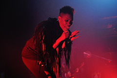 Skunk Anansie band performs at Barcelona Royalty Free Stock Photography