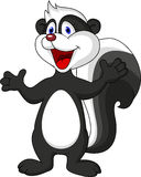 Skunk cartoon Royalty Free Stock Photo