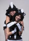Skunk costume Stock Photos