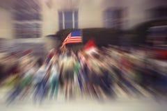 skup się bandery Obrazy Royalty Free