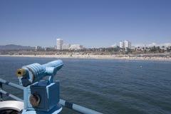 skupienie się na plaży Fotografia Stock