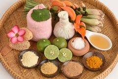 Skura från naturliga ingredienser Royaltyfria Foton