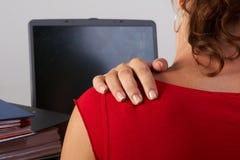 skurcz mięśni placów obraz stock