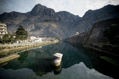 Skurda river, Kotor, Montenegro royalty free stock images