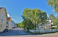 Skurholmen in Luleå. Skurholmen is a neighborhood in Luleå. Skurholmen borders in the west to Skurholmsfjärden, in the north towards Kronan, in the east Royalty Free Stock Photo