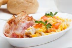 Skurkrollfrukost Fotografering för Bildbyråer