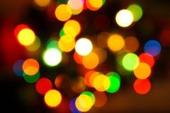 skutków kolorowi światła Obrazy Stock
